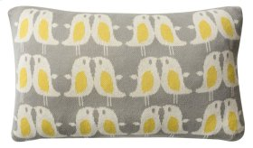 SWEET PENGUIN PILLOW - Light Grey / Yellow - Light Grey / Yellow