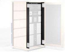 """21-U Rack Mount Brackets For Syenrgy 40\"""" Cabinet with Doors, Set of 2"""