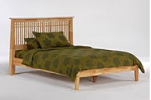 Solstice Bed in Natural Finish