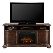 Henderson Media Console Electric Fireplace