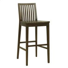 Model 24 Bar Stool Wood Seat