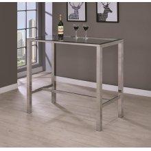 Contemporary Glass Bar Table