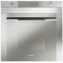 """60CM (approx 24 ) """"Linea"""" Electric Multifunction Oven Stainless Steel and Glass"""