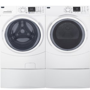 Crosley Professional Dryer - White, Diamond Gray