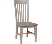 Tall Mission Chair Taupe Gray