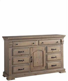 Door Dresser - Natural Finish