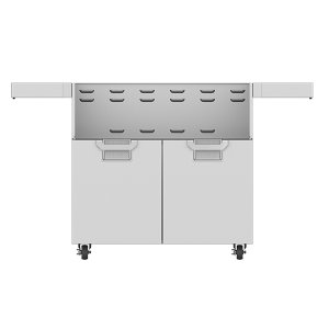 "Hestan36"" Aspire Tower Cart with Double Doors - ECD Series - Steeletto"