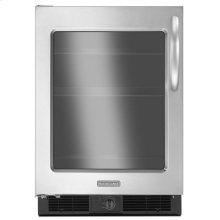 5.7 Cu. Ft. 24'' Specialty Refrigerator, Left-Hand Door Swing, Architect® Series II - Stainless Steel