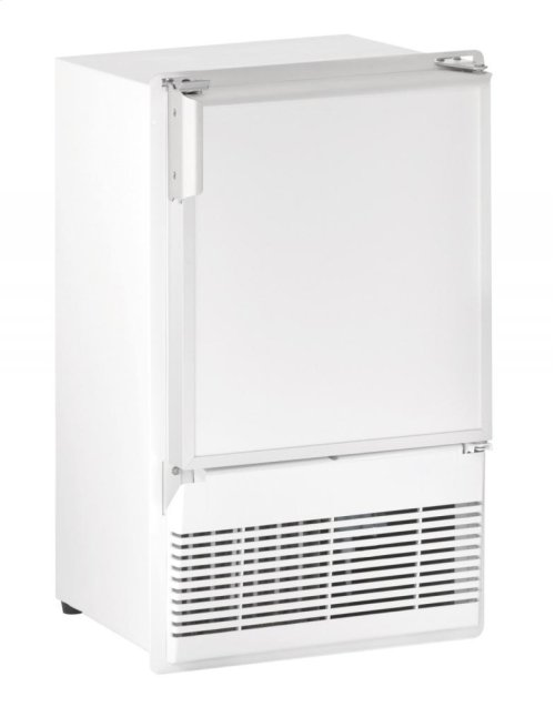 "Marine Series 14"" Marine Crescent Ice Maker With White Solid Finish and Field Reversible Door Swing"