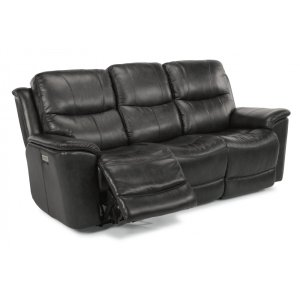 FLEXSTEELCade Power Reclining Sofa with Power Headrests