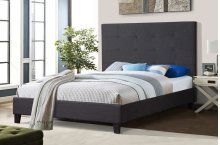 7566 Gray Full Bed