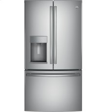 RED HOT BUY! GE® ENERGY STAR® 25.8 Cu. Ft. French-Door Refrigerator