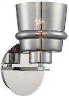 Wall Lamp, Chrome/smoke Mirrored Glass Shade, E27 Type G 60w Product Image