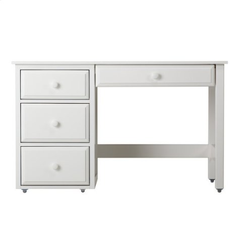 Student Desk with Pencil Drawer : White