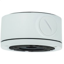 SMALL JUNCTION BOX FOR MINI SECURITY CAMERAS - White