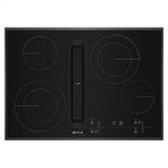 "JENN-AIRBlack Floating Glass 30"" JX3 Electric Downdraft Cooktop with Glass-Touch Electronic Controls"