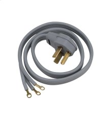 Universal dryer power cord (3W / 6' / 30A)