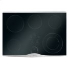 "30"" Electric Radiant Cooktop with Electronic Touch Control, Stainless Steel Product Image"