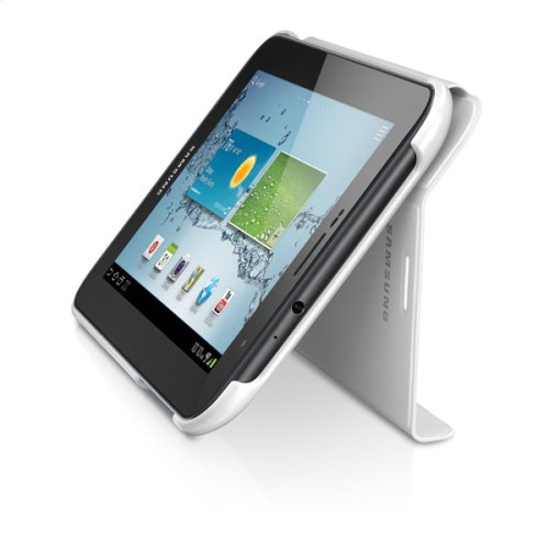 Galaxy Tab 2 7.0 Magnetic Book Cover, White
