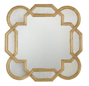 Salon Mirror in Salon Antique Gold Leaf (341)