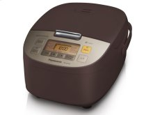 5 Cup (uncooked) Microcomputer Controlled Rice Cooker - Brown - SR-ZS105