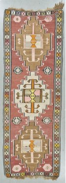 """FLAT WEAVES 000023261 IN MULTI 4'-5"""" x 12'-7"""" Product Image"""