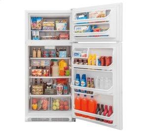 RED HOT BUY-BE HAPPY! Frigidaire 18 Cu. Ft. Top Freezer Refrigerator