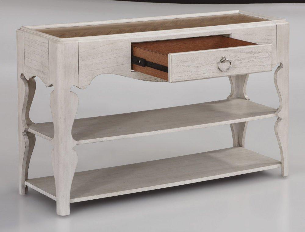 Flexsteel Miramar Scroll Leg Sofa Table