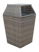 Graphite Garbage Bin Product Image