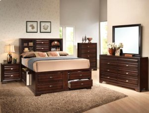 Stella Captions Queen-Size Storage Bed