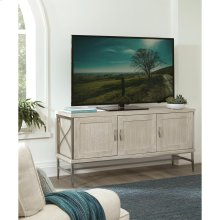 Lilly - Entertainment Console - Champagne Finish