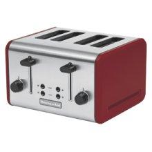 4-Slice Metal Toaster