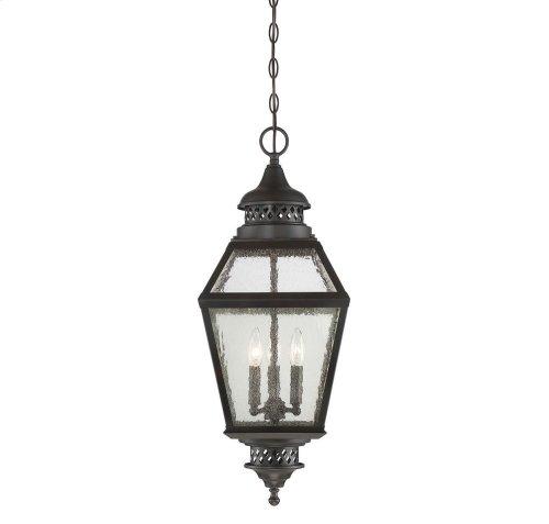 "Chiminea 11"" Hanging Lantern"