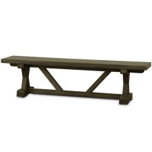 Riverwalk Dining Bench (18 x 72 x 13)