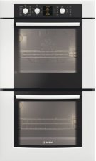 """30"""" Double Wall Oven 500 Series White HBL5620UC DISCONTINUED Product Image"""