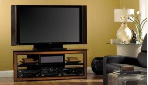 Versatile Cherry Wood Trim Audio/Video System