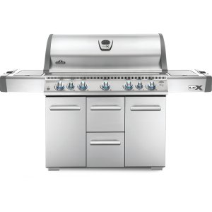 Napoleon GrillsLEX 730 RSBI Side Burner, Infrared Bottom & Rear Burners , Stainless Steel , Natural Gas