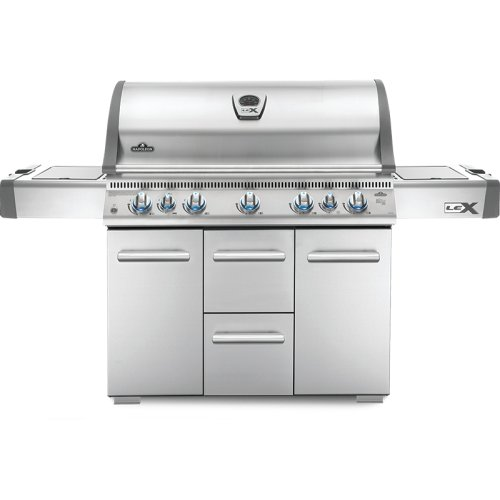 LEX 730 RSBI with Side Burner and Infrared Bottom & Rear Burners , Stainless Steel , Propane