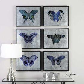 Vibrant Butterflies, S/6