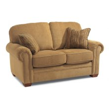 Harrison Fabric Loveseat without Nailhead Trim