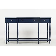 """Stately Home 60"""" Console-navy"""