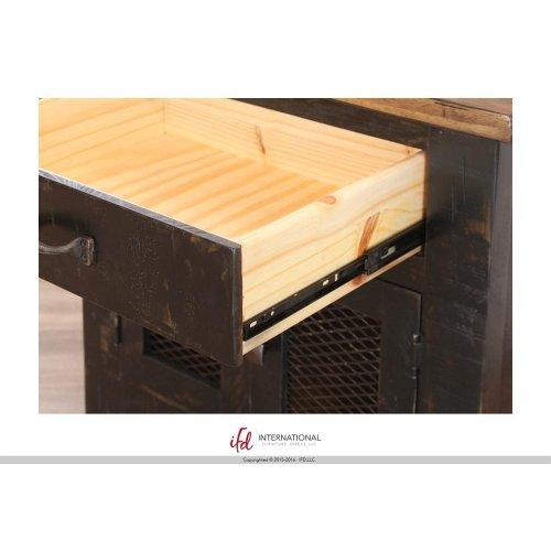 5/0 Low-Profile Footboard & Rails