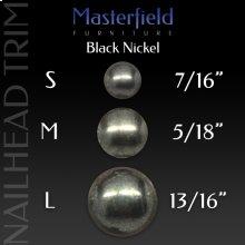 Black Nickel Nail Head Trim