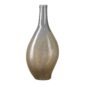 Large Mocha Dipped Vase