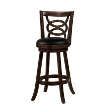 Traditional Espresso Bar-height Stool