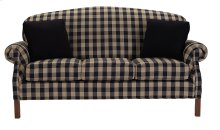 Sofa with Oak Chippendale Legs
