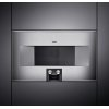 Gaggenau 400 Series 400 Series Speed Microwave Oven Stainless Steel-Backed Full Glass Door Right-Hinged Controls At The Bottom