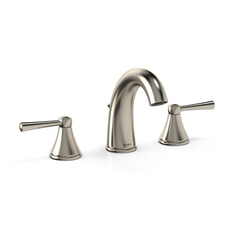 Silas Widespread Lavatory Faucet - Brushed Nickel