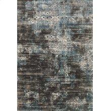 Charcoal / Blue Rug