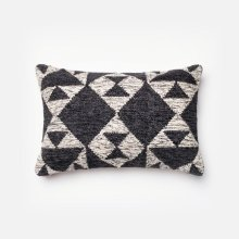 Charcoal / Ivory Pillow